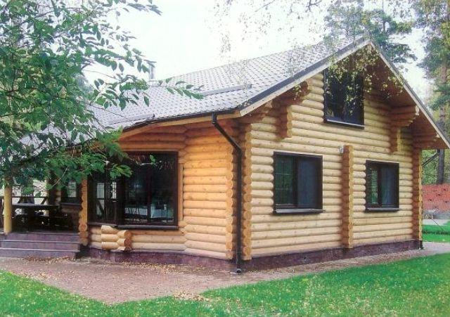 Строим дома из оцилиндровки в Кирове